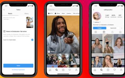 Instagram launcht TikTok-Konkurrenten Reels global