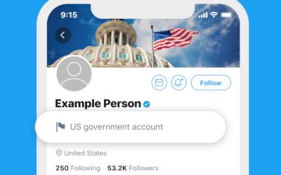 Twitter markiert Accounts von Regierungen und staatsnahen Medien