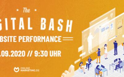 Deine Allround-Optimierung: The Digital Bash – Website Performance