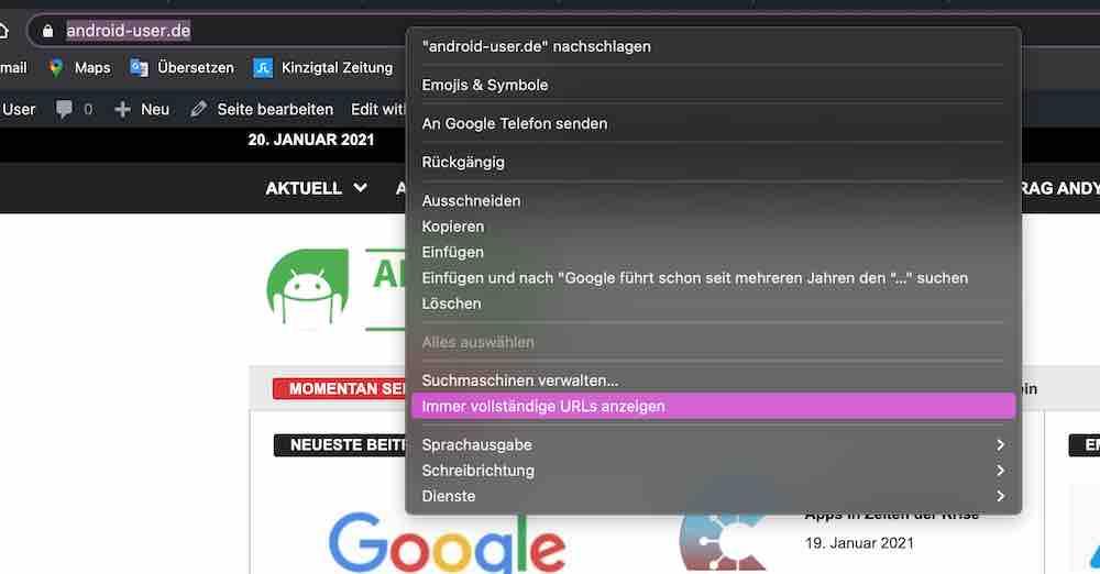 Chrome 88: Viele Änderungen in der neuesten Browser-Version