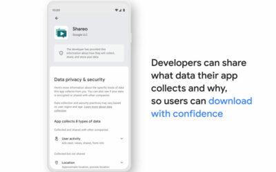 Datenschutz: Google zeigt neuen Play-Store-Bereich