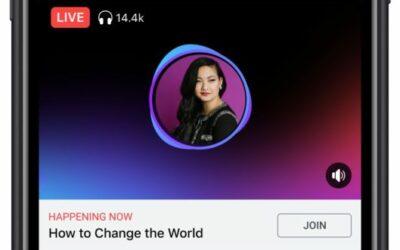 Facebook Live Audio Rooms starten in Deutschland